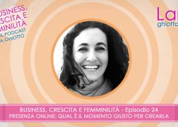 Ep 24_Presenza online